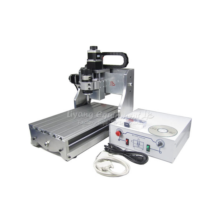 Mini CNC Engraver CNC 3020T-D300 milling machine with 300W DC power spindle motor for diy personal hobby free shipping 0 3kw cnc spindle motor with full er11 chuck 300w spindle motor diy 12 48 300w dc motor for pcb milling machine