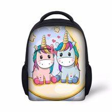 kids School Bag light Weight Girls Backpack bags fancy Unicorn printing backpack  child mochila escolar kindergarten ffe6c19c5b236