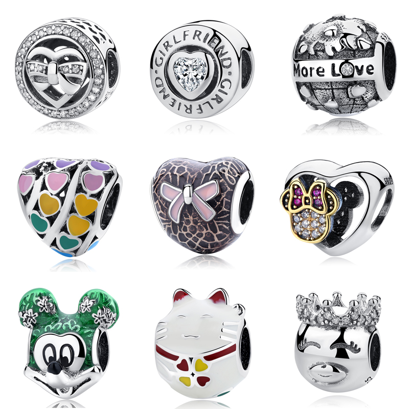 26be6668e Detail Feedback Questions about Diy Jewelry Making Women Fit Pandora Charms  Beads Sterling Silver 925 Original Regalos Bisuteria Kralen Voor Sieraden  Chrtf ...
