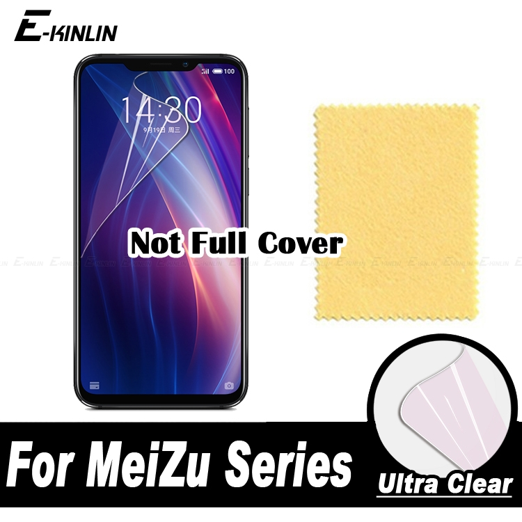 HD Clear Display Soft Screen Protector Protective Film For MeiZu X8 M8 16 16th 15 Lite Note 8 Pro 7 PlusHD Clear Display Soft Screen Protector Protective Film For MeiZu X8 M8 16 16th 15 Lite Note 8 Pro 7 Plus