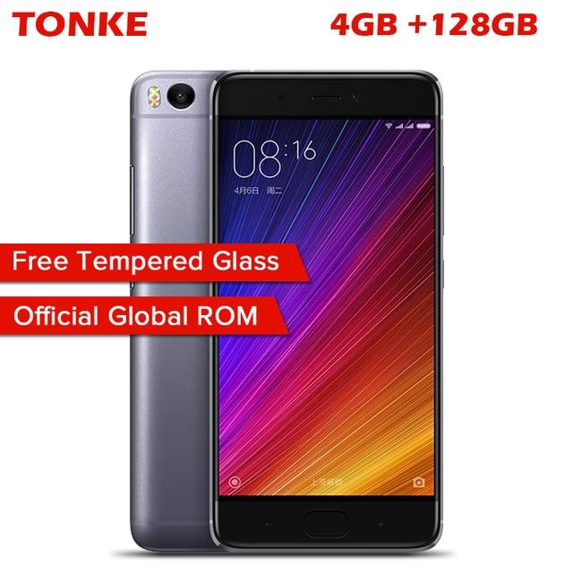 "Original Xiaomi Mi5s Mi 5S 4GB RAM 128GB ROM Mobile Phone Snapdragon 821 Quad Core 5.15"" 1920x1080P Fingerprint ID MIUI 8"
