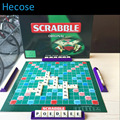 cards game scrabble game original, high quality, very suitable for the children and family board game