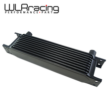 WLRING STORE- New Style Aluminum Universal Engine transmission AN10 Oil Cooler 10rows Black WLR7010- 2BK