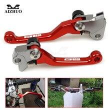 For honda CR80R CR85R CR125R CRF150R CRF230F CRF250L CRF250M CR 80R 85R Motorcycle Motocross dirt bike Pivot Brake Clutch Levers
