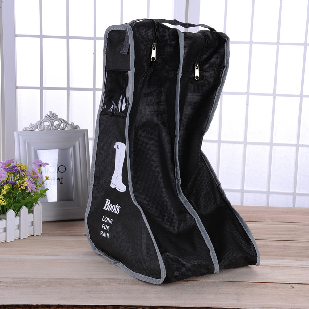Beautiful Portable Big Shoes Storage Bags Hanging Closet Cabin Shoe Cover Boots  Organizer Sack Storaging Bag With Zipper Boot Protector In Storage Bags  From Home ...