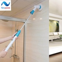 Multifunctional Electric Long Handle Scrub Spin Household Cleaning Brusher