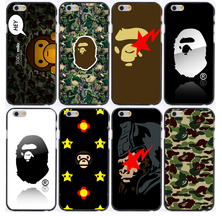 separation shoes 7b1ea 75b5b US $3.68 |Bape design background print plastic hard phone cases for iphone  6 case 6plus 5 5s 5c 4s for samsung case on Aliexpress.com | Alibaba Group