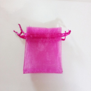 Image 2 - 1000pcs Rose Red Gift Bags For Jewelry Bags And Packaging Organza Bag Drawstring Bag Wedding/Woman Storage Display Pouches
