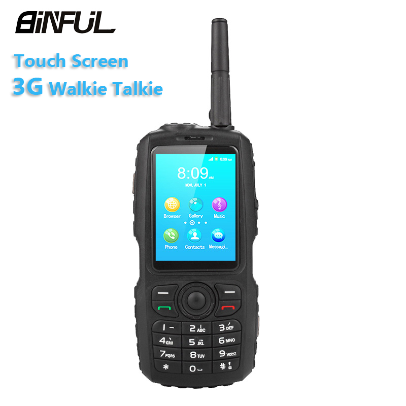 BiNFUL A17 Zello Walkie talkie Mobile Phone IP67 Waterproof MT6572 Android Smartphone 2G 3G Dual SIM