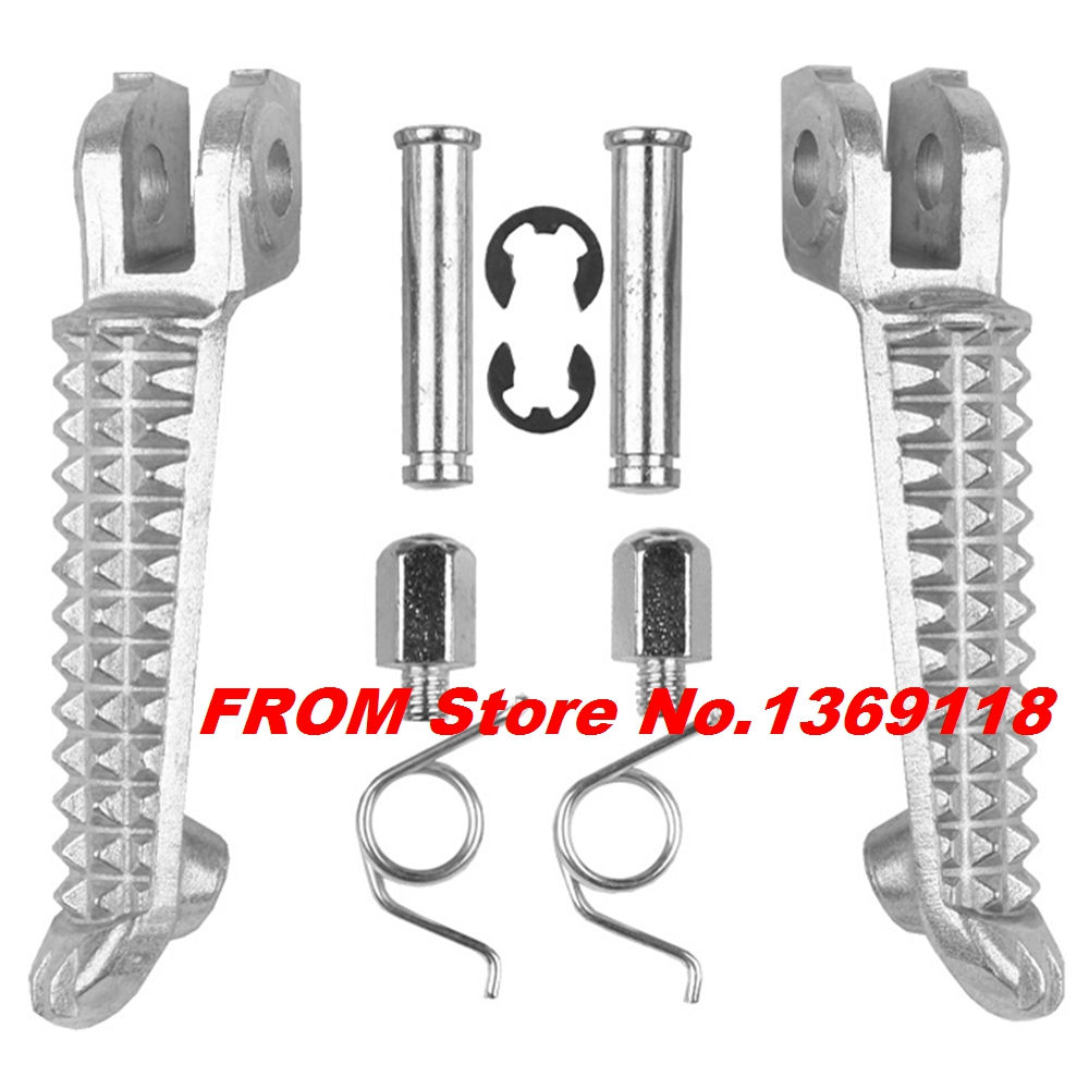 Motorcycle Left Right Front Footrest Foot Pegs For Yamaha