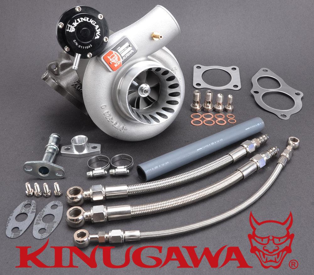 Kinugawa Turbocharger 3 Anti Surge TD05H-20G 7cm for 4G63T DSM Eclipse EVO 1~3 kinugawa gtx ball bearing turbocharger 3 anti surge gtx2860r ar 64 t25 5 bolt internal page 9