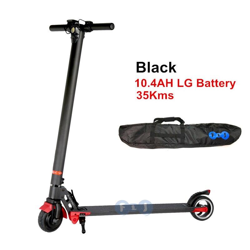 buy flj i6 new aluminum electric scooter. Black Bedroom Furniture Sets. Home Design Ideas