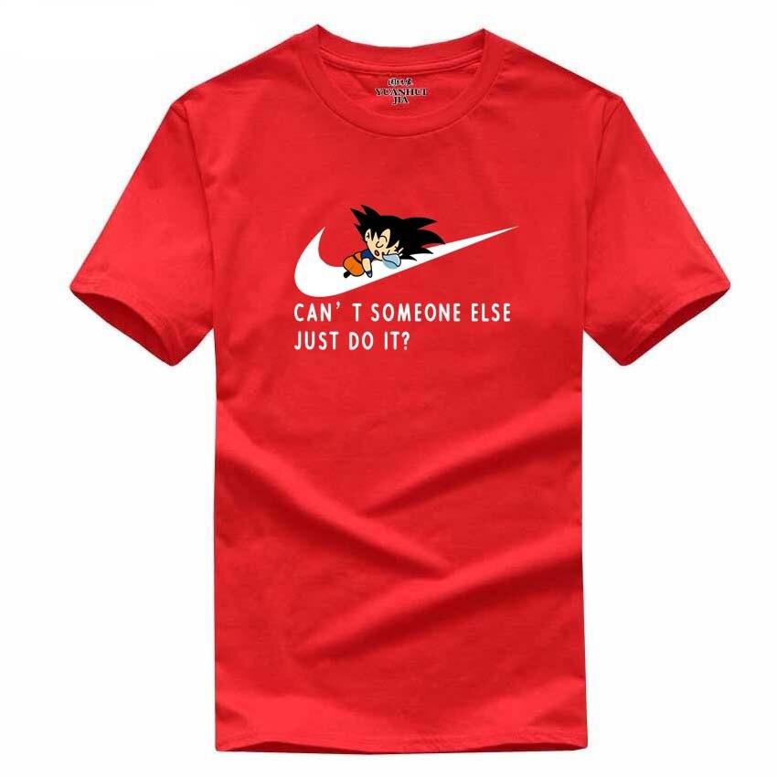 2017 Νέο γράμμα T Shirt Μπλουζάκια Mens dragonball - Ανδρικός ρουχισμός - Φωτογραφία 5
