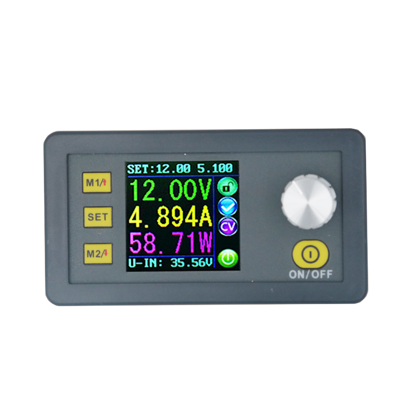 By DHL/FEDEX 10 pcs Power Supply module buck Voltage converter voltmeter color LCD Display DP30V5A Constant Volt Current 15%off 30pcs lot by dhl or fedex dps3005 communication function step down buck voltage converter lcd voltmeter 40%off