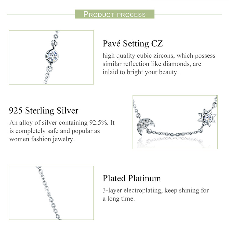 HTB1Sr0 teGSBuNjSspbq6AiipXaG Mid-Year Sales 925 Sterling Silver Sparkling Moon and Star Exquisite Pendant Necklaces for Women 925 Silver Jewelry Gift SCN272