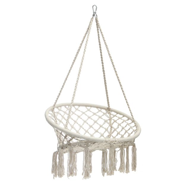Swing Hanging Chair – White (with hanging tools)