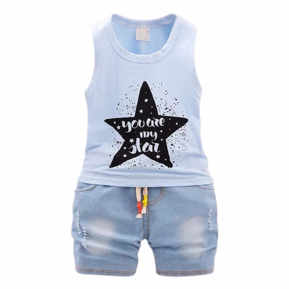 Newborn Baby Boys Girls Clothes Cute Cotton Baby Clothing Set Short + Pant 2pcs Summer Spring Suit Little Girl Clothing Set summer 2017 newborn baby boy clothes short sleeve cotton t shirt tops geometric pant 2pcs outfit toddler baby girl clothing set
