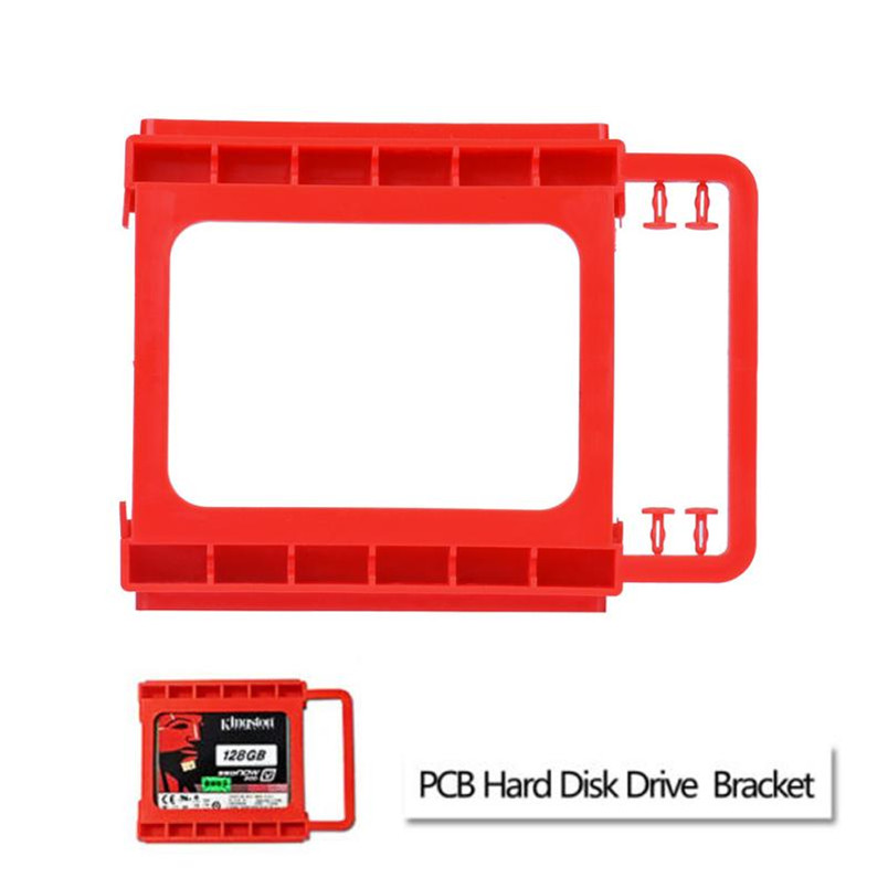 2.5 to 3.5inch SSD to HDD Screw-less Mounting Adapter Bracket Hard Drive Holder Mounting Adapter Bracket цена