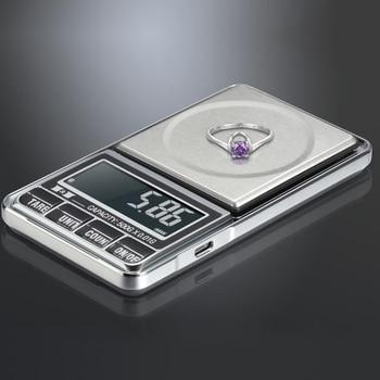 500g * 0.01g Gioielli Digital Bilancia del peso di Equilibrio Bilancia s Precisione bilancia digitale di precisione elettronico Bilancia s tasca di peso