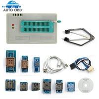 2017 100 Original NEWEST V6 6 Minipro TL866A Usb Programmer 10 Items IC Adapters High Speed