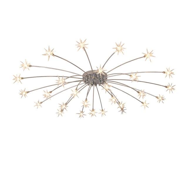 modern simplified led full sky star LED ceiling light living room bedroom ceiling lighting