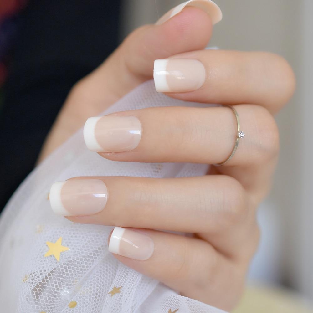Awesome Natural French Nails Pattern - Nail Art Ideas - morihati.com