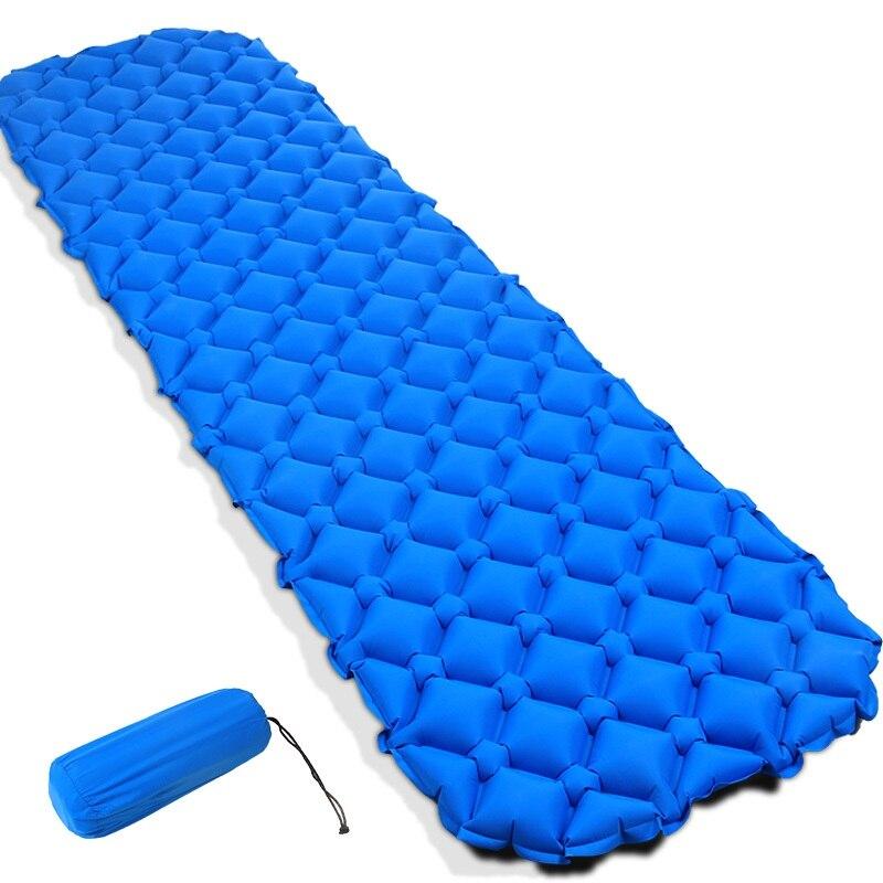 Air Matelas Gonflable Lit pour Tente Portable Ultra-Léger de Couchage Pad Lit D'air Étanche À L'humidité Pad Tente Extérieure Camping Mat