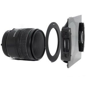Image 4 - ND Filter Set Light Filter ND2 ND4 ND8 Square Filter File Metal Adapter Ring Filtre Bracket For Nikon D3400 Canon EOS Cokin