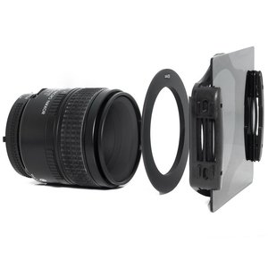 Image 4 - ND フィルターセットライトフィルター ND2 ND4 ND8 正方形フィルターファイル金属アダプタリング Filtre ニコン D3400 キヤノン EOS Cokin
