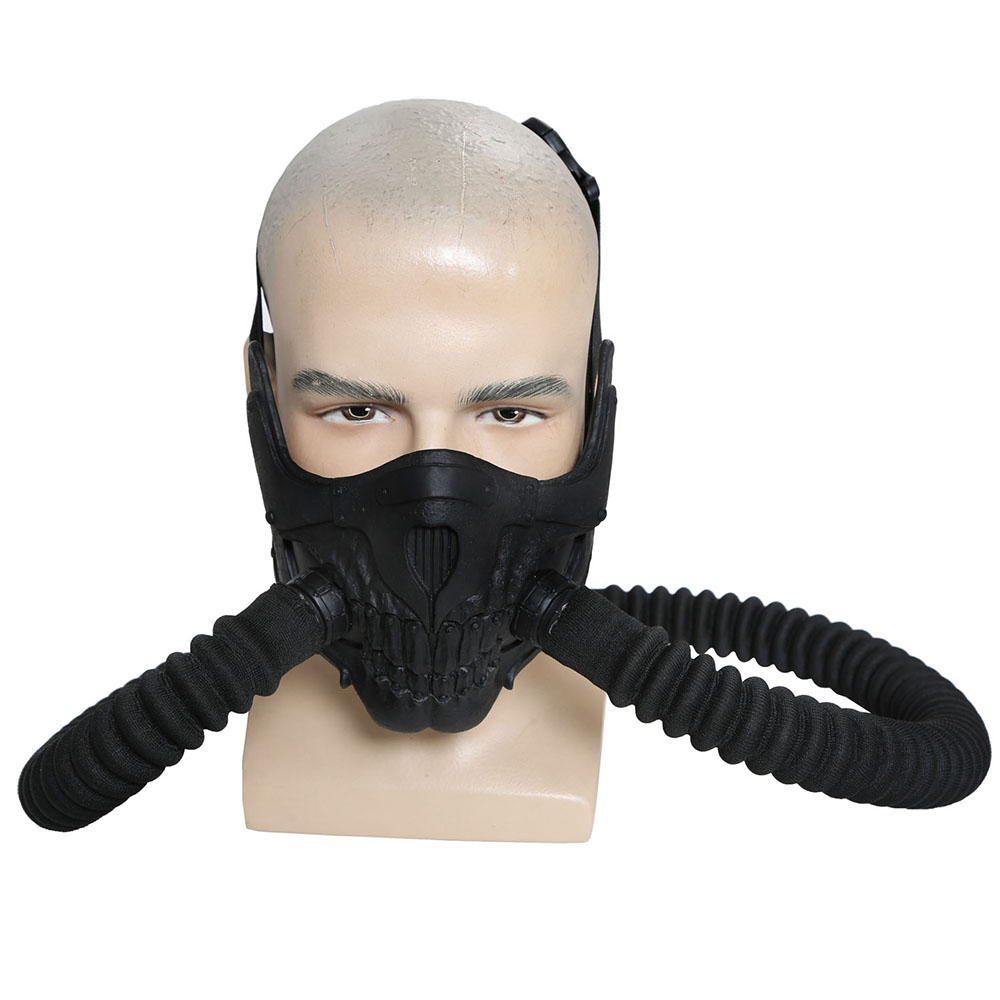 X Costume Mad Max Immortal Old Joe Black Tube Face Mask -6980