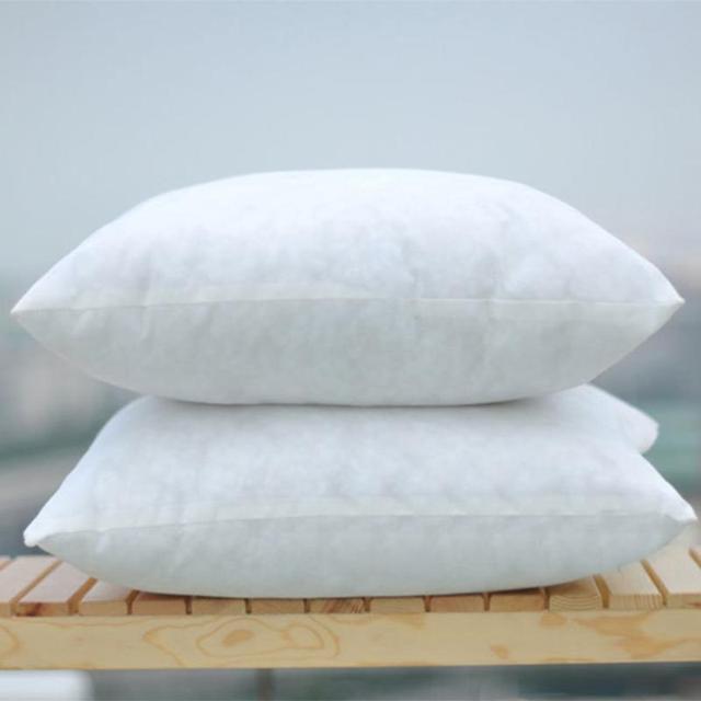 48x48cm 400g White Cushion Insert Soft Pp Cotton Throw Pillow Core Inner For Car Chair Seat
