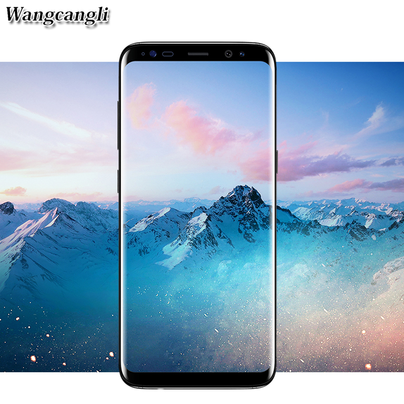 wangcangli protective glass for s8 for samsung galaxy s8 s7 plus glass screen protector s7 edge film 3D Full coverage