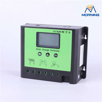 China 40A 50A 60A substantial manual pwm solar charge controller with LCD display 12V 24V 48V