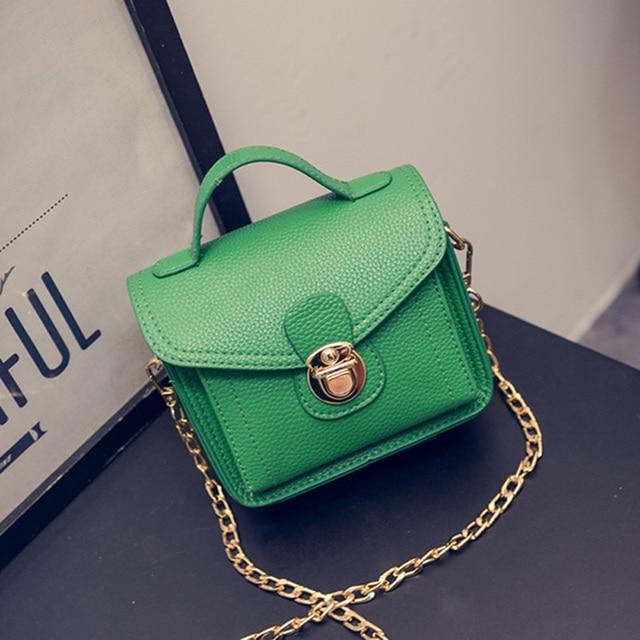 Mini Little S Women Party Handbags Fashion Lock On Woman Shoulder Bags Cross Body