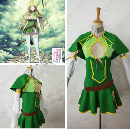 How Not to Summon a Demon Lord Shera L Greenwood Cosplay Costume-in Anime Costumes from Novelty & Special Use    1