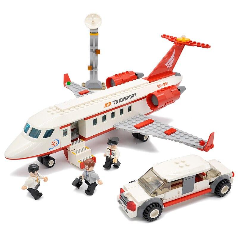 02043 Compatible Legoing City Airport Passenger Terminal 10026 Block