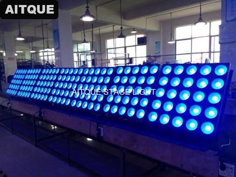 4pcs Dj equipment Stage Decoration High Brightness LED Blinder Light 25pcs 30W led matrix light 5x5 Pixel RGB 3in1 LED