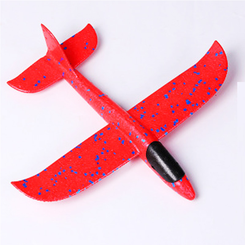 35 см детские игрушки «сделай сам» ручной бросок летающий самолет s пена модель аэроплана светится в темноте Летающий Plane Самолет игрушки для детей