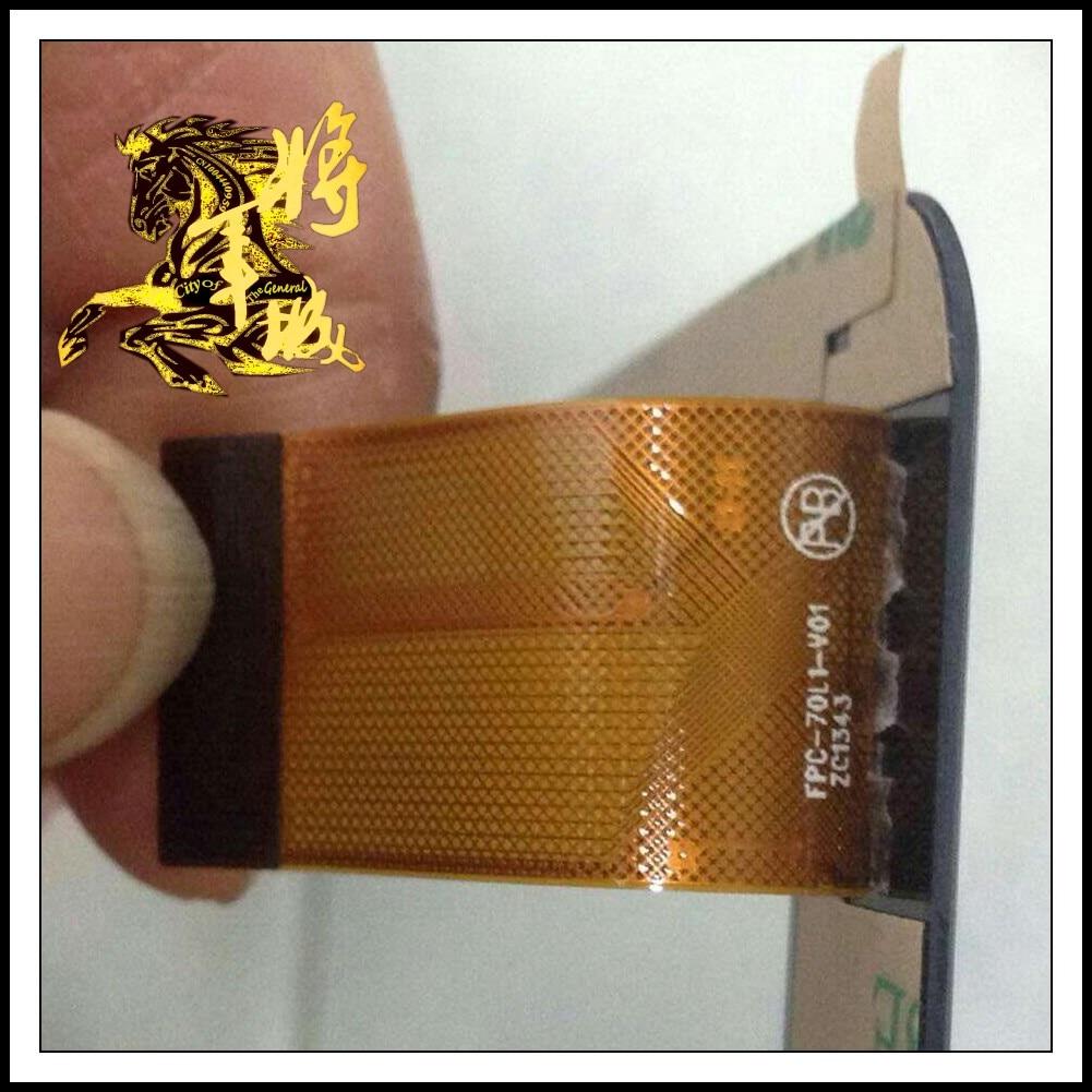 GENCTY For 7-inch FPC-70L1-V01 W-O