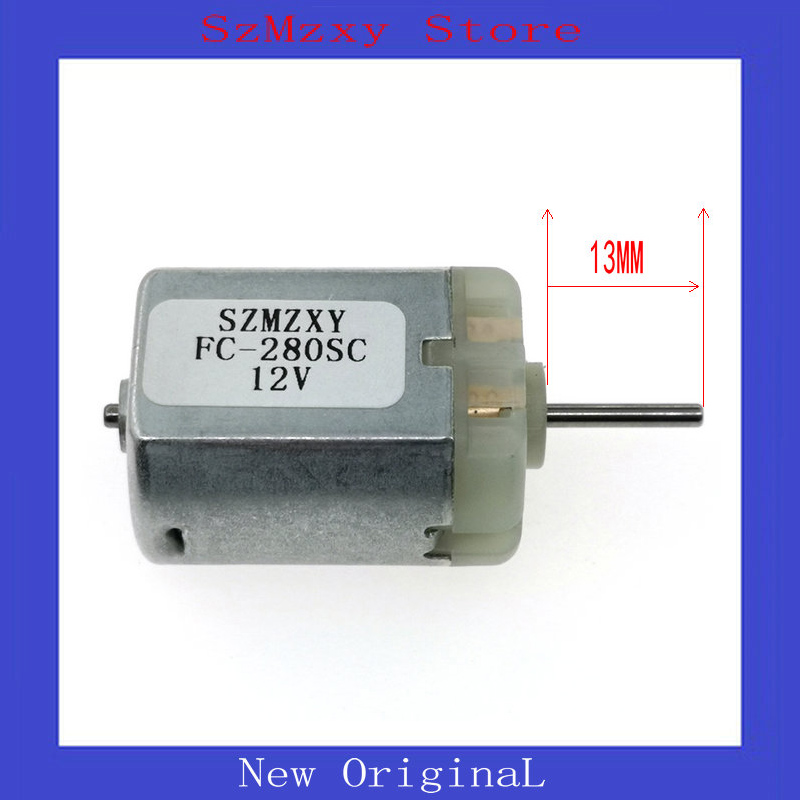 1PCS FC280 FC-280SC 280 13MM 12V Miniature dc locomotive lock rear-view mirror with motor high speed motor image