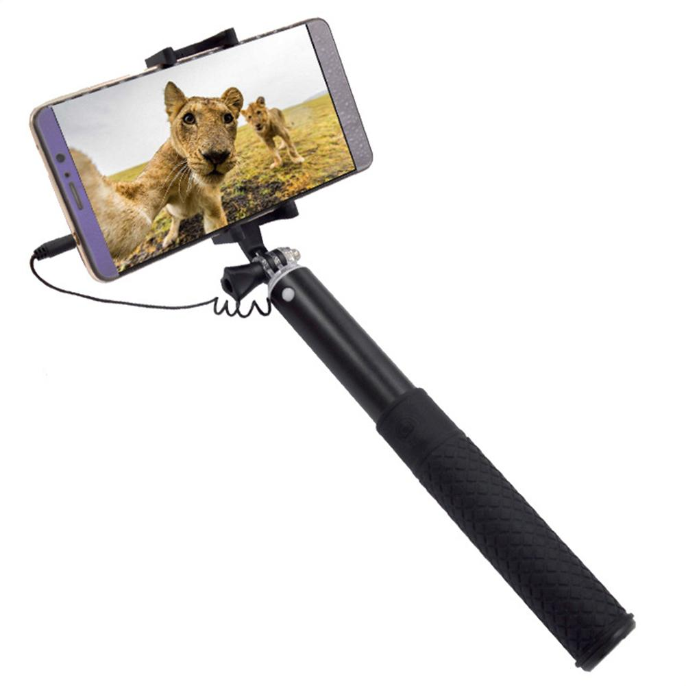 Universal Mobile Phone Clip Holder Mount Bracket Adapter For Selfie Stick Tripod Smartphone Camera Cell Phone Tripod Stand Mount-in Sports Camcorder Cases from Consumer Electronics