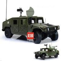 عالية حرب عسكرية محاكاة 1:18 hummers jeep دييكاست السيارات المفتوحة الباب سبيكة التراجع اللعب مع بندقية للأطفال الهدايا جمع