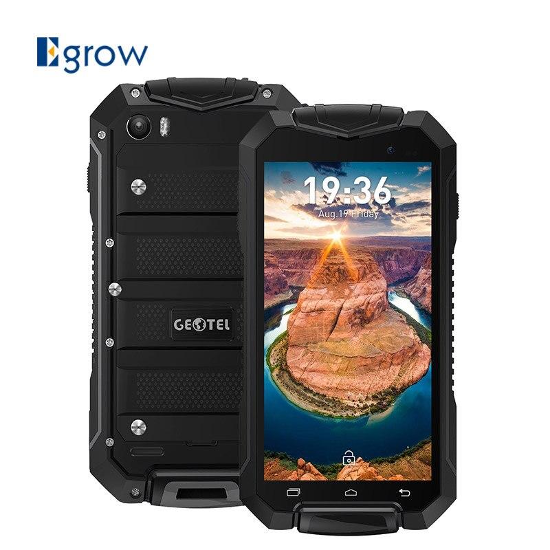 Geotel A1 IP67 Водонепроницаемый мобильного телефона Android 7.0 mtk6580m quad-core 1. 3G Гц 1 ГБ + 8 ГБ 8.0mp 3400 мАч 4.5 дюйма 3G WCDMA смартфон