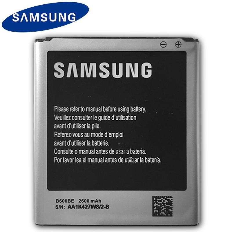 Original Samsung S4 Battery B600BE For Galaxy S4 i9500 i9505 i959 i337 i545 i9295 e330s 2600mAh Replacement Mobile Phone Battery