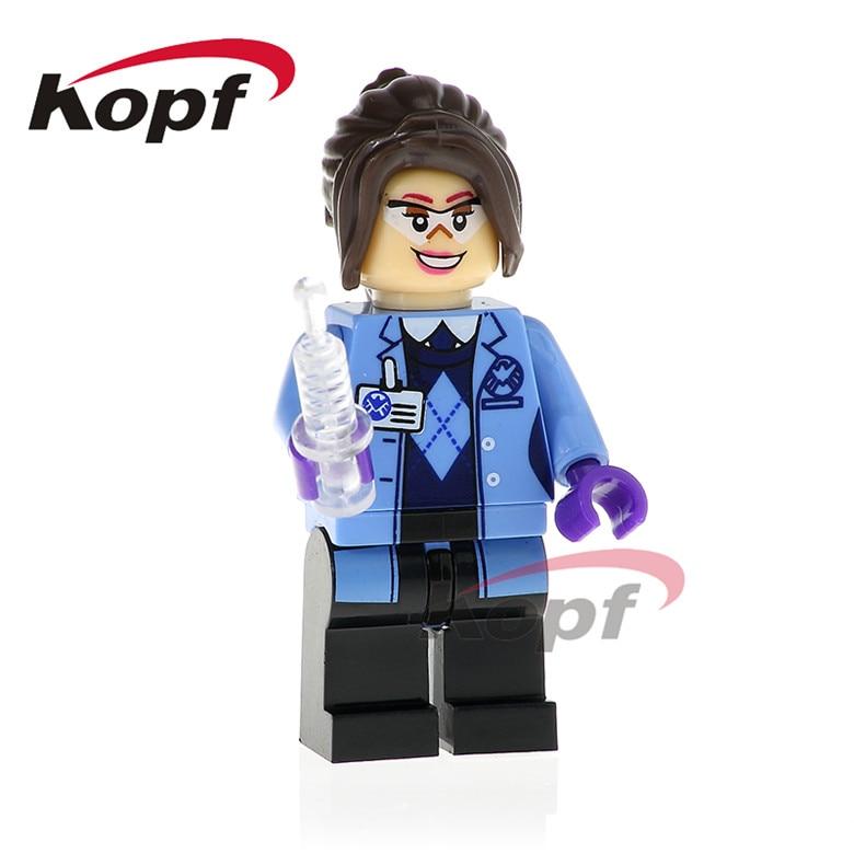 20Pcs XH 786 Super Heroes Jemma Simmons Mockingbird Melinda May Daisy Johnson Building Blocks Collection For Children Gift Toys