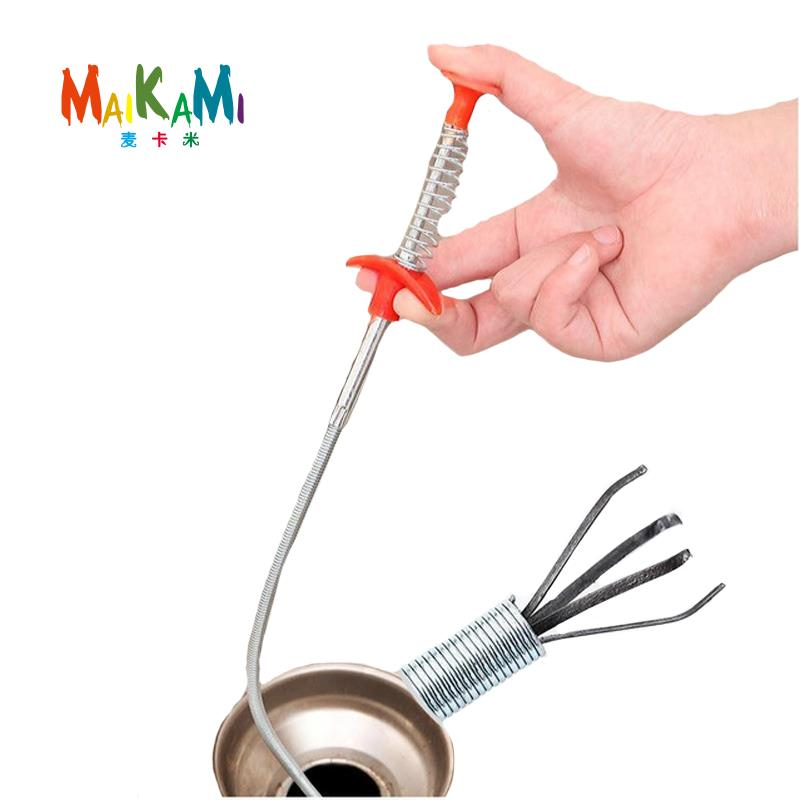 Kitchen Cleaner Brush: Aliexpress.com : Buy Bendable Brush Sewer Pipeline Dredge