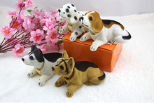 1 Pcs Cheerleading Souvenirs Decoration Accessories Very Cute Dog Lucky Environmental Toys Shaking Head Lucky Dog