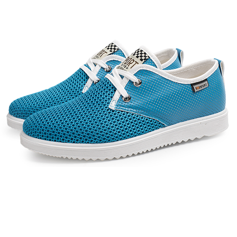 Skate shoes price - New Spring Summer Men Fashin Shoes Lace Up Breathable Mesh Surface Korean Stylecasualshoes Trend Top Comfortable