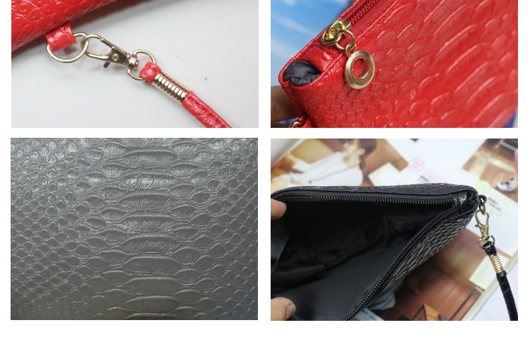 2017 new fashion alligator mini wallets women coins bags for girls purse and handbag ladies day clutch shoulder bag bolsos mujer
