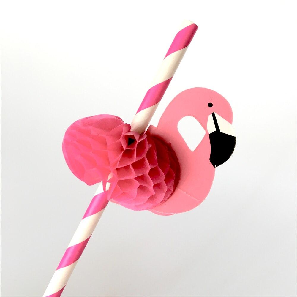 Flamingo Party Straws 10Pcs/set Reusable Plastic Straws Party Diy Decorations Paper Straws Wedding Table Decoration Supplies,9 8